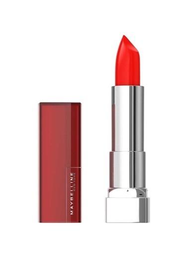Maybelline Maybelline New York Color Sensational Ruj - 344 Coral Rise Kırmızı